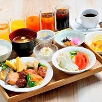 【10種類のメニュー】朝食バイキング付!高級寝具&大浴場&サウナでリラックス◎朝食付き◎