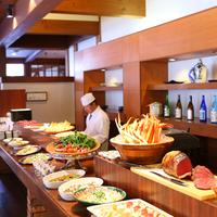 【 冬季週末限定 】こだわり信州食材を堪能・日替わり和洋ディナーブッフェ付きプラン(1泊2食)@