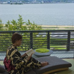 「MINAMO」シャワーブース付和室8畳【宍道湖眺望】バス無1泊朝食付プラン