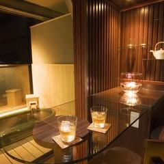 客室バーカウンターで粋にふたりの時間を楽しむカップルプラン【露天風呂付客室】