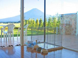 ☆ペットさんと同宿プラン☆寛ぎのガーデンに富士山の絶景♪(食事選択可)