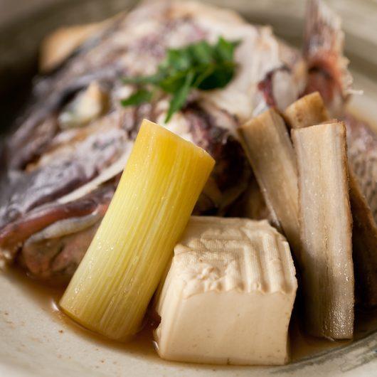 さち家オリジナル「鯛の薄造りとかぶと煮」♪源泉100%かけ流し☆★古湯で味わう瀬戸内の恵み♪