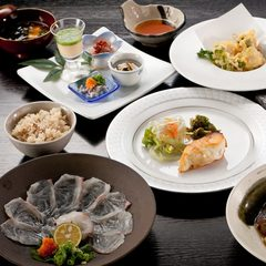 愛媛の県魚「鯛」を存分に満喫♪宇和島名物『活鯛飯』&A5ランク和牛ステーキ付き!迷ったらこのプラン