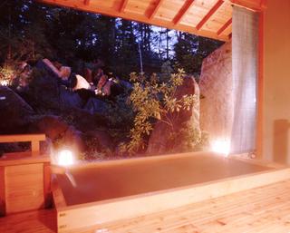 【温泉】貸切露天風呂1回45分利用付き&信州朴葉焼を堪能するグルメプラン