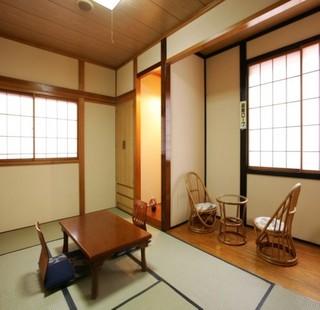 のんびりできる昔ながらの和室(新畳)雰囲気たっぷり♪禁煙