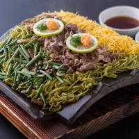 【非接触のすすめ】夕食:すき焼き&瓦そば御膳【WIFI無料】