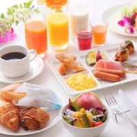 【レイトサマー】【ポイント5倍】シェフこだわりのメニュー和洋40種類の朝食ブッフェ付き♪【楽天限定】