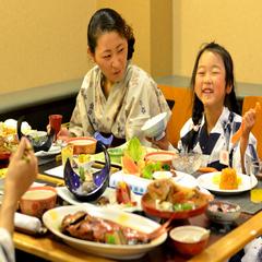 【 2020夏休み!家族に嬉しい特典充実!】ご夕食お食事処!お得なファミリープラン♪