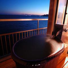 【特別室・露天風呂/展望風呂付客室・802号室】大人の休日プラン