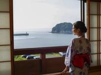 日本海の見える和室