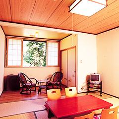 【平日特典】露天貸切風呂30分無料・WIFI付和室8畳