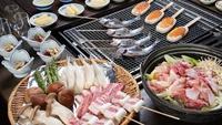 【串焼いろり料理】リーズナブルなのにボリュームたっぷり♪金曜&土曜は売木村星空ツアーを開催