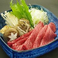 【大人気】山形牛を味わう贅沢!メイン料理は山形牛しゃぶしゃぶ(150g)