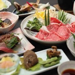 【最上級『山形牛』メイン料理が選べる♪ステーキorしゃぶしゃぶ】チョイスプラン