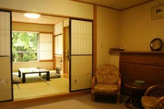 ★庭園ビュー客室★【中庭に面した部屋】
