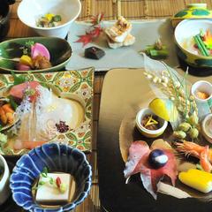 【特別室さくらの間】出来たての懐石料理を満喫♪