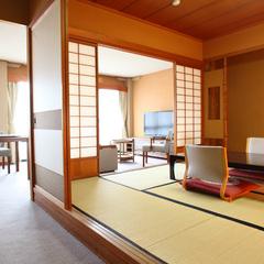本館【禁煙室】和室8畳+リビング付き/45平米