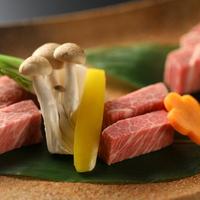【LUX SELECTION】科野-shinano会席◆信州プレミアム牛を愉しむグレードUPプラン
