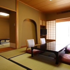 本館【禁煙室】和室10畳+7畳 一番広いお部屋/66平米