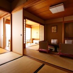 本館【禁煙室】和室10畳+4畳 ちょっとゆとりのお部屋