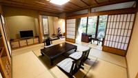山茶亭◆和室10畳◆【露天風呂付客室】×【禁煙】