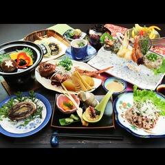 【あわび×海鮮料理】食べ方チョイス♪アワビ1枚付き海鮮料理[現金特価]
