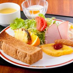 【朝食付】1日の始まりは朝食から!和食・洋食から選べる定食スタイルがうれしい朝食付プラン☆