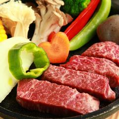 【当館人気】信州黒毛和牛の一口ステーキプラン♪