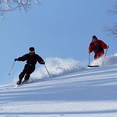 【リフト券付/1泊2食】【しらかば2in1スキー場】お得なスキースノボ宿泊パック