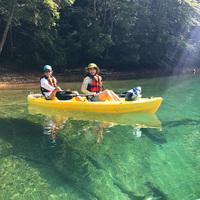 【カヌー体験付】本州NO.1の透明度!夏にぴったり・水のアクティビティ第二弾〜水上で非日常も味わう〜