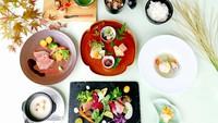 【新春セール】【1泊2食】温泉満喫♪夕食創作和フレンチ♪『里山の味わい』[N10NS]