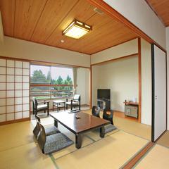 【広々和室12畳】日本庭園を眺めながら寛ぎのひと時を(禁煙)