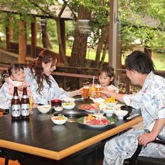【春夏旅セール】特典付!どんどこ湯のレストランで「自家牧場産の美味し〜い焼肉」2食付【現金決済】
