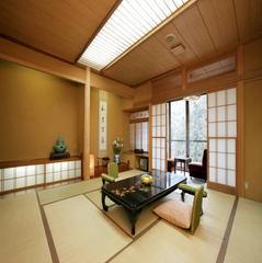 書院風造りの緑水亭【踏込み3畳+本間12.5畳+広縁】