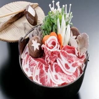 """【定番人気】 低カロリーでクセもなくコラーゲンたっぷりの""""猪肉""""を大鍋で♪"""