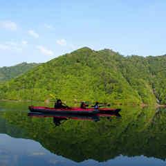 半日カヌーツアー付プラン≪新緑の秘境へ≫たっぷりカヌーを楽しもう【スタンダードプラン同等】