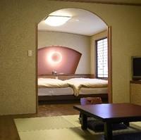 (禁煙)【和モダンしょうぶ】(幼児不可)和室6畳+ベット