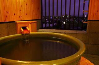 【1番館和田屋】展望風呂付 和洋室(ツインベット+和室6畳)