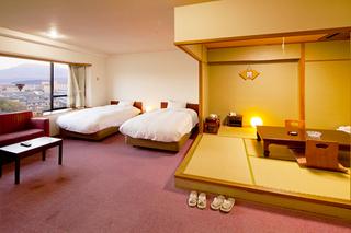 【1番館和田屋】和洋室40平米(和室6畳+ツインベット)
