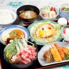 【夕食グレードアップ】ご夕食を豪華にボリュームアップした満腹プラン!(2食付)