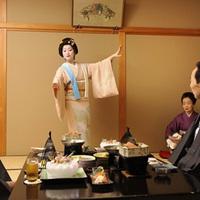 【大人の贅沢】加賀の芸妓さんをお部屋で愉しむ◇文化と触れるひととき〜伝統芸能堪能プラン〜