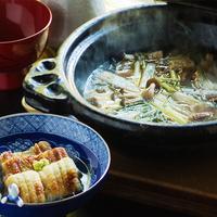 """【期間限定◆鰻懐石】""""サッパリ""""美味しい胡蝶オリジナル『うなぎの鍋料理』<〆は出汁の効いた雑炊で>"""
