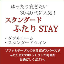 ◆JAL楽パック◆★スタンダード ゆったり ふたりSTAY★ 天然温泉付