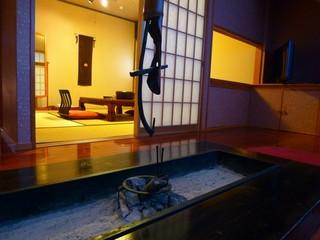 檜風呂付和洋室(ロフトタイプ)【梅の間】