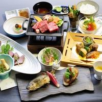 【楽天スーパーSALE】5%OFF「あまごの昆布じめ」&「徳島県産黒毛和牛鉄板焼き」付プラン