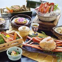 【紅蟹づくし会席◇紅がさね-Benigasane-】甲羅焼きに姿盛り・かに鍋など、蟹を心ゆくまで♪