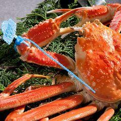 【特別室】ランクアップ|タグブランド浜茹で姿一匹蟹コース|ブランド但馬牛&カニコース