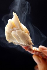 【基本定番プラン】茹で蟹の会席と評判の朝食は南部鉄器で白ご飯の蟹御殿定番プランです