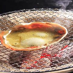 【大きいゆでガニが食べたい!】アツアツ湯がきたてと<カニみそ刺身>フルコース! (漁火3人プラン)