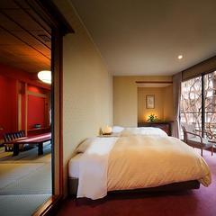 1日1室限定【禁煙和洋室】12畳の和室とツイン洋室